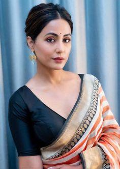 Simple Blouse Designs, Stylish Blouse Design, Blouse Neck Designs, Blouse Styles, Sari Blouse, Saree Blouse Patterns, Indian Blouse, Indian Wear, Sari Design