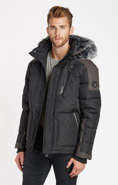 Weaver Short Jacket  - Black Combo