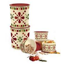 Tupperware | Happy Hacienda 5-Pc. Canister Set
