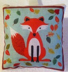 Fox Gift / Fox Fabric Lavender Bag / Fox Lover Gift - Handmade