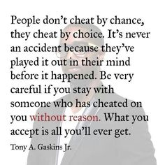 #Cheaters don't cheat by chance, it's by choice.  And my ex left me #heartbroken.   #InfidelityHurts