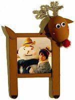 Winter Theme: Reindeer frame