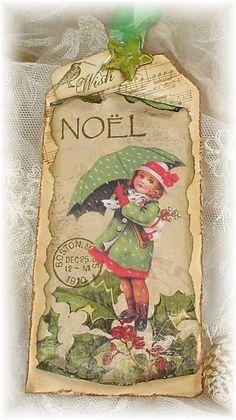 love this...christmas tag..
