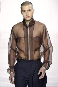 Airy organza elevates sportswear at Duckie Brown.