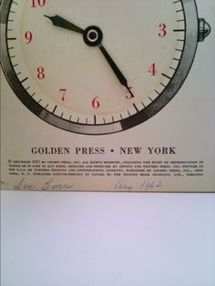 How to Tell Time (a Little Golden Activity Book) | New and Used Books from Thrift Books