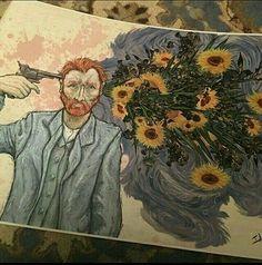 "Van gogh art sunflowers (@visualartspaint) on Instagram: ""#galleryart #visualart #artforsale #oilpaint #живопись #художник #artfair #картина #instaartwork…"""