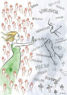 La impunidad perpetúa el círculo de la violencia contra la mujer Feminist Quotes, Feminist Art, Art Libra, Art Psychology, Girls Run The World, Intersectional Feminism, Power Girl, Watercolor Illustration, Powerful Women