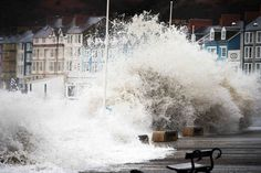 Wales Weather: Aberystwyth students advised to leave seafront halls as floods and strong winds forecast