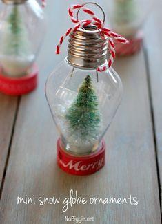 50 Handmade Christmas Ornaments Ideas | Cathy