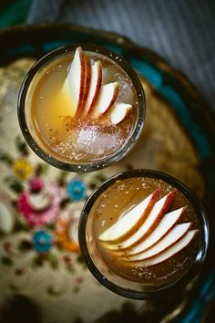 Apple Cider Punch | rum, cider, cinnamon, nutmeg, bitters