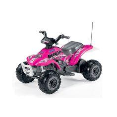 Peg Perego Električni Automobil Quad Corral BearCat Pink  http://www.bebolino.rs/prodavnica-bebi-opreme/igracke/peg-perego-elektricni-automobil-quad-corral-bearcat-pink/