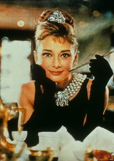Top Five Hairstyles Ever: Audrey Hepburn's up-do from Breakfast at Tiffany's.