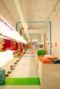 Agatha Ruiz de la Prada Store, New York by Matteo Colombo, via Behance