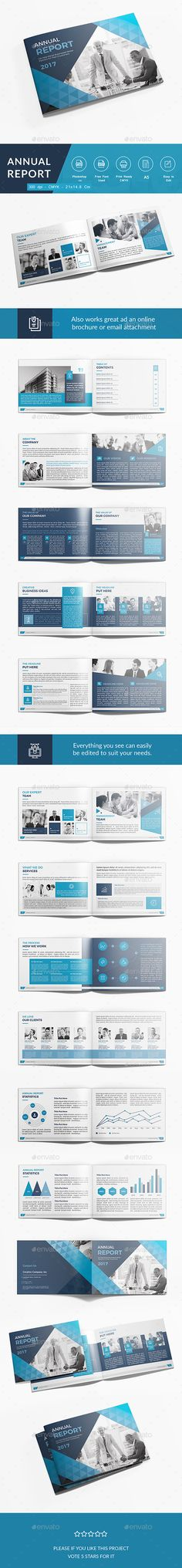#Annual Report - #Corporate #Brochures Download here: https://graphicriver.net/item/annual-report/18483892?ref=alena994