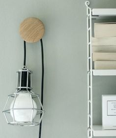 Stylish Cord Hooks | How to avoid an annoying mess of tangled cords.