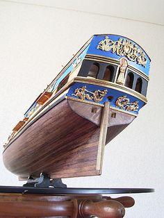 ロイヤルキャロライン(Royal Caroline) 帆船模型 製作過程 / Royal Caroline / 1749 / 1:47 / Saved by Stephen Lok