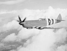 Information and history of the British Supermarine Spitfire fighter aircraft.