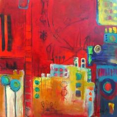 Jeanne Bessette painting abstract 9 http://shelleysassdesigns.wix.com/shelley-sass-designs