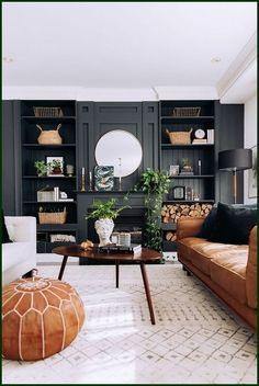 French Home Decor Cool 44 Fascinating Black Living Room Designs Ideas That Never Go Out Of Fashion. Home Decor Cool 44 Fascinating Black Living Room Designs Ideas That Never Go Out Of Fashion. Dark Living Rooms, Home Living Room, Interior Design Living Room, Small Living, Dark Rooms, Living Room Walls, Cozy Living, Stylish Living Rooms, Natural Living Rooms