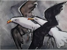 Buy online, view images and see past prices for Fitzgerald, James EdwaUSDrd. BLACK-BACKED GULLS. Invaluable is the world's largest marketplace for art, antiques, and collectibles. Watercolor And Ink, Watercolor Paintings, James Fitzgerald, Gulls, Back To Black, Animal Drawings, View Image, Art Photography, Sculptures