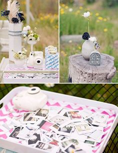 Fujifilm Instax – Wedding guest book - fun way to get guests to take pics!