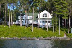 Gorgeous house on Lake Winnesaukee.