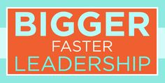 "Sign up today and receive Sam Chand's brand new book ""Bigger Faster Leadership"" absolutely for free! #biggerfasterleadership"