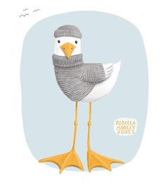 I updated an old pencil drawing for this week's colour collective in opal grey. I think this might make a nice print for kids. . . #opalgrey #colour_collective #seagull #kidlitart #artlicensing #ipadproart #illustration