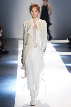 Olivia Palermo's #PFW Pin Picks: Angelic softness for Ann Demeulemeester SS'15