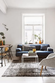 The oh so cool home of a Swedish photographer - my scandinavian home