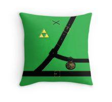 The Legend Of Zelda Suit Throw Pillow