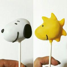 Snoopy & Woodstock Cake Pops