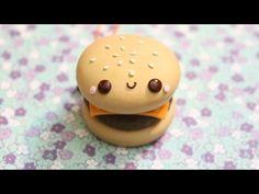 polymer clay burger - Pesquisa Google