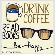 Coffee and books. Yes.