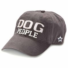 Dog People Hat  You will LOVE all of our new stuff!  www.femailcreatio... #UniqueGifts #GiftsForWomen #Gifts #GiftsForAllOccassions #InspirationalGifts #Love #NewProducts #Apparel #Deals