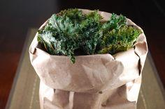 Crispy Kale Chips   #AskGeorgie