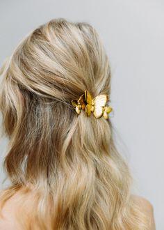 Everyday Hairstyles, Pretty Hairstyles, Easy Hairstyles, Wedding Hairstyles, Hair Barrettes, Hair Bows, Blonde Bride, Luxury Hair, Gorgeous Hair
