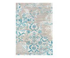 Teppich Monet, grau-blau, 200 x 290 cm | Westwing Home & Living