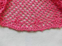 Crochet Top Aline Detail
