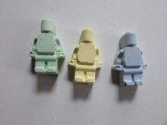 1 Mini lego minfigure sidewalk chalk  Lego by StitchnNibblercrafts