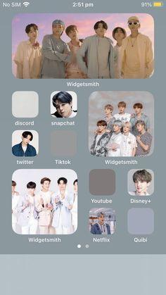 Lockscreen Ios, Iphone Wallpaper Ios, Black Phone Wallpaper, Bts Wallpaper, Iphone Home Screen Layout, Iphone App Layout, Black App, Phone Themes, Aesthetic Phone Case