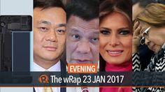 Duterte, De Lima, Samsung Note7   Evening wRap - WATCH VIDEO HERE -> http://dutertenewstoday.com/duterte-de-lima-samsung-note7-evening-wrap/   Today on Rappler: – Duterte meets 2016 Miss Universe candidates – Senators slam BI officials who took bribe money from Jack Lam – Senate to probe De Lima on House inquiry 'interference' – Duterte expresses appreciation for Melania Trump – Samsung:...