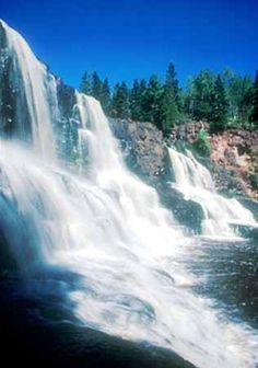 Gooseberry Falls, Minnesota. I want to go see this place one day. Please check…