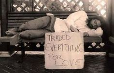 Trade everything for love....