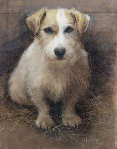 Portrait of a Terrier by Samuel Fulton | Art Posters & Prints