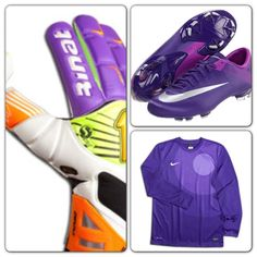 22d498ea8e3 Soccer goalie color coordination - nice colors!