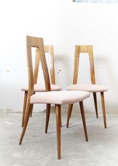 Dining Chairs von Ernst Martin Dettinger für Lukas Schneidt