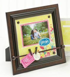 Valentine! Nancy O'Dell Love Mini Display Accents from #CreativeMemories    http://www.creativememories.com