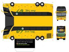 paper modelvolvo trucks | MARCOPOLO PARADISO G7 1600 SANTA IZABEL TURISMO ( DESENHOS DE ONIBUS ...
