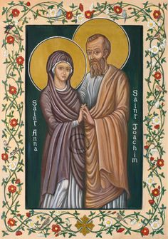 St. Joachim and St. Anna, parents of the Virgin Mary